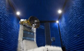 Thales Alenia Space delivers the high gain antenna for the Euclid space telescope