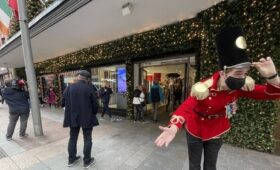 Retail trade brisk as shoppers head out and about