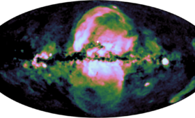 A second set of even larger bubbles has been found blasting out of the Milky Way's center