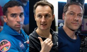 Three astronauts assigned to Crew Dragon mission in late 2021