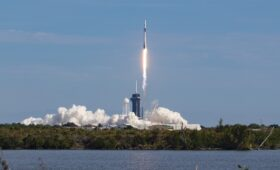 SpaceX launches first in new line of upgraded space station cargo ships