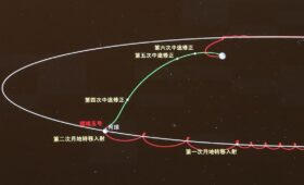 Chinese spacecraft heading back to Earth with lunar samples