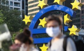 European Central Bank sees slower growth next year