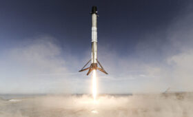 Photos: Falcon 9 launches and lands at Vandenberg Air Force Base
