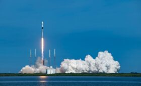 SiriusXM satellite rides SpaceX rocket into orbit