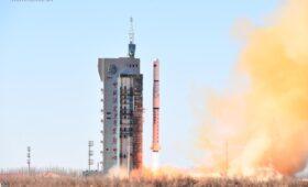China launches military spy satellite trio into orbit