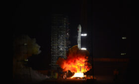 China's first launch of 2021 orbits communications satellite