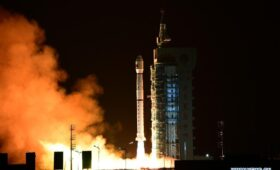 China launches secret military spy payload