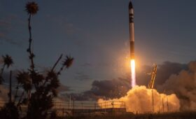Rocket Lab launches communications satellite for OHB
