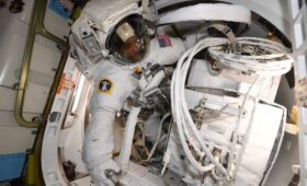 Spacewalkers Complete Columbus Upgrades, Look Ahead to Monday EVA