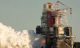 Tight Test Margins Hampered SLS Hot Fire Test, NASA Says