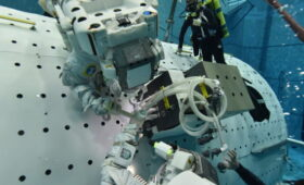 Expedition 64 Prepares for Wednesday Spacewalk to Upgrade Columbus Lab