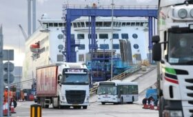 Port volumes rising but still lower than last year