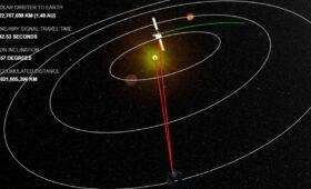 ESA's Solar Orbiter 'Hides' Behind the Sun