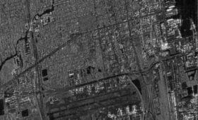 "Synspective releases the first image from its small SAR satellite ""StriX-α"""