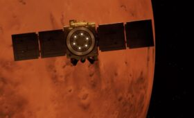 Arab world's first interplanetary spacecraft safely arrives at Mars