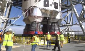 Engineers Continue Troubleshooting Faulty Valve in SLS Rocket's Engine Section