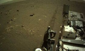 Perseverance rover records sounds of driving on Mars