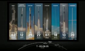 SpaceX extends its own rocket reuse record on Starlink launch