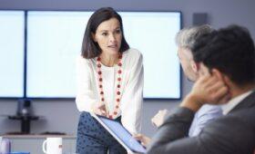 Increase in women taking up leadership roles