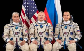 NASA astronaut joins Russian Soyuz crew for April flight to space station