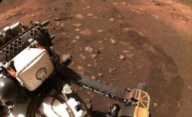 Perseverance rover aces first test drive on Mars