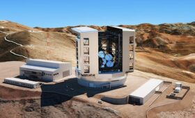 Sixth mirror cast for Giant Magellan Telescope