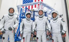 Busy month of crew rotations on tap at International Space Station
