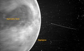 Peering through the clouds of Venus surprises NRL scientists