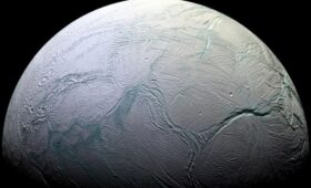 There are Ocean Currents Under the ice on Enceladus