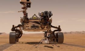 Mars rover deploys Ingenuity helicopter for historic flight
