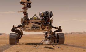 Mars rover deploys Ingenuity helicopter for historic flight