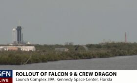 """Live coverage: Flight Readiness Review gives """"go"""" for SpaceX crew launch"""