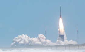 Atlas 5 rocket launches infrared missile detection satellite for U.S. Space Force