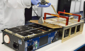 Tyvak smallsat launched by SpaceX to validate miniature space debris telescope