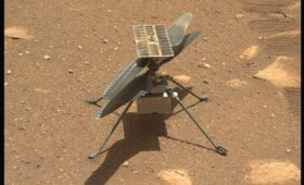 Mars helicopter 'muscles through' navigation glitch on sixth flight