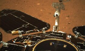 China releases first pictures from Zhurong rover since Mars landing