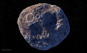 Asteroid 16 Psyche Might Not be a Solid Chunk of Metal After All, but Another Rubble Pile
