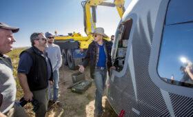 $28 million bid wins auction to join Bezos on suborbital spaceflight