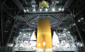 LVSA Added to Artemis-1 Stack, As SLS Big Build Continues