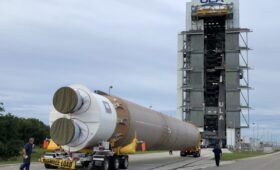 ULA Begins Stacking Atlas V for Boeing's Starliner OFT-2 Launch, as Second Booster Arrives for First Crewed Flight