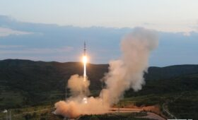 China launches satellite group to detect global radio transmissions