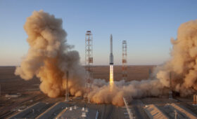 Russian science lab heads for International Space Station