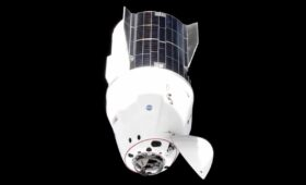 SpaceX crew capsule relocated outside space station before Boeing mission