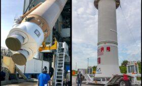 Atlas Rocket Stacked, Awaits Starliner's Arrival for 2nd Orbital Flight Test July 30