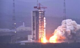 China launches two radar mapping satellites