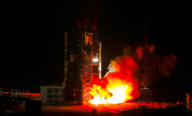 China launches another geostationary military satellite