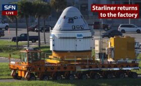 Boeing's Starliner spacecraft returns to processing facility for valve work