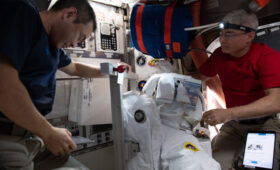Crew Medical Issue Delays Spacewalk to Prepare for New Solar Arrays