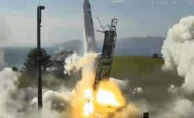 Astra rocket fails after early engine shutdown